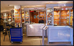JKM Industrial Supplies showroom displays nuts and bolts, power tools, hand tools, air tools
